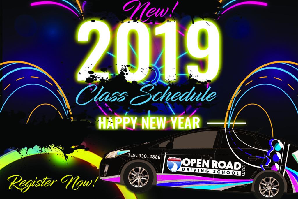 19 RYL SLDR LOGO Class Schedule Happy New Year copy