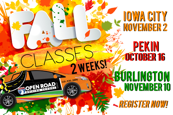 19 RYL SLDR Fall Classes