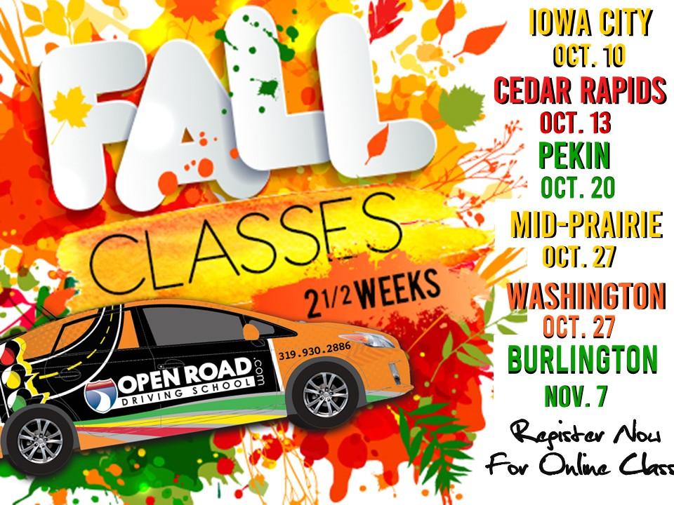 20 RYL SLDR Fall Classes